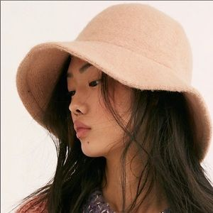 Free People Devon Wool Bucket Hat NWOT
